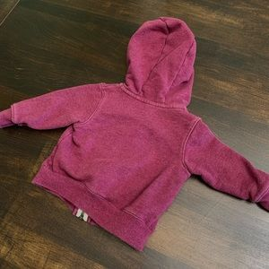 Carter's Shirts & Tops - Carter's Maroon Colored Zip Hoodie